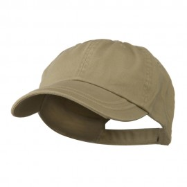 Low Profile Normal Dyed Cotton Twill Cap - Stone