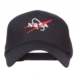 NASA Logo Embroidered Constructed Cap