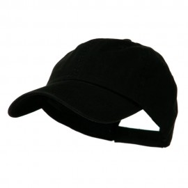 Low Profile Normal Dyed Cap - Black Black