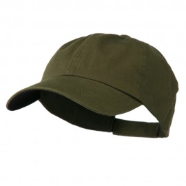 Low Profile Normal Dyed Cap - Olive Navy