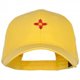 New Mexico Flag Logo Embroidered Low Cap