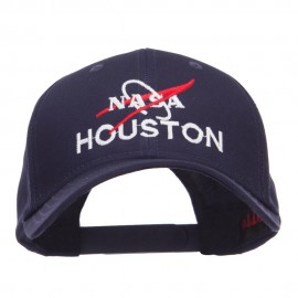NASA Houston Embroidered Cotton Twill Cap