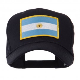 North and South America Flag Embroidered Patch Cap