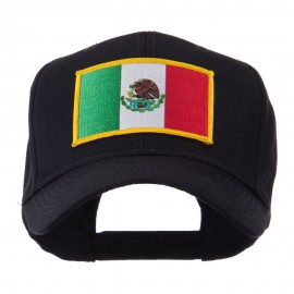 North and South America Flag Embroidered Patch Cap - Mexico