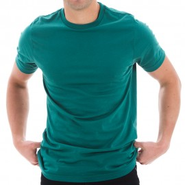 Unisex Lane Seven Ring Spun Combed Cotton Short Sleeve Deluxe Jersey T-Shirt - Teal