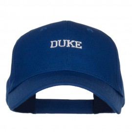 Mini Duke Embroidered Cotton Cap