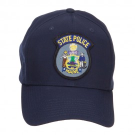 Maine State Police Patch Cap - Navy
