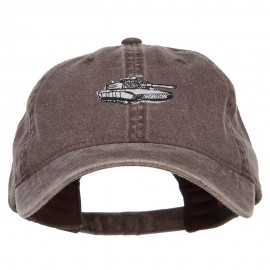 Tank Embroidered Washed Cap