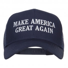 Make America Great Again Embroidered Mesh Cap