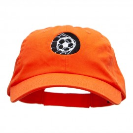 Ball In The Net Embroidered Cotton Twill Cap