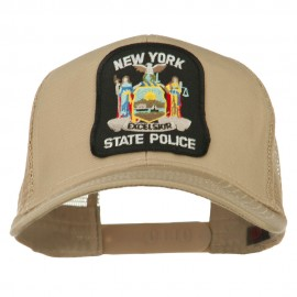 New York State Police Patched Mesh Back Cap