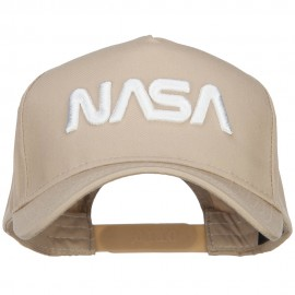 3D NASA Letters Logo Embroidered Twill 5 Panel Cap