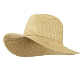 Ribbon Paper Straw Panama Hat