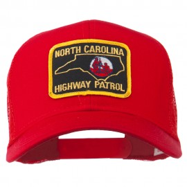 North Carolina Highway Patrol Patched Mesh Cap