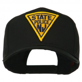 New Jersey State Police Patched High Profile Cap - Black