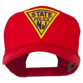 New Jersey State Police Patched High Profile Cap