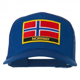 Norway Country Patched Mesh Back Cap