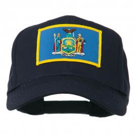 State of New York Embroidered Patch Cap