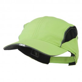 OC HiBeam LED Runner's Shape Reflective Cap