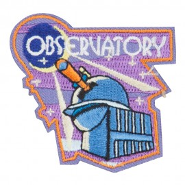 Observatory Embroidered Patches