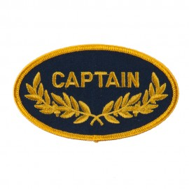 Oak Leaf Embroidered Military Patch - Captain