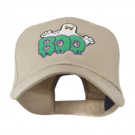 Halloween Ghost Boo Embroidered Cap