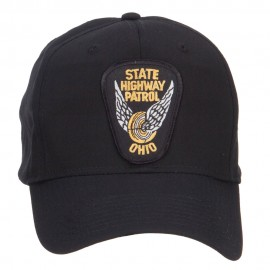 Ohio State Highway Patrol Patch Cap - Black