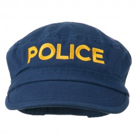 Police Embroidered Enzyme Army Cap
