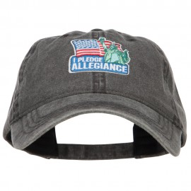 I Pledge Allegiance Patched Washed Cap