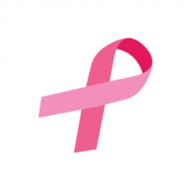 Breast Cancer Awareness Pink Ribbon Heat Transfers Sticker