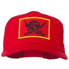 Pirates Skull and Choppers Patch Cap