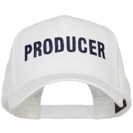 Producer Embroidered Twill Cap