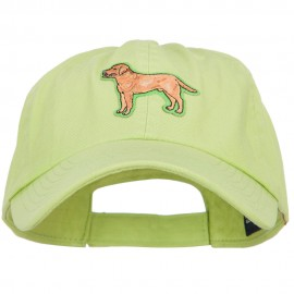 Pet Dog Patched Low Profile Cotton Twill Cap