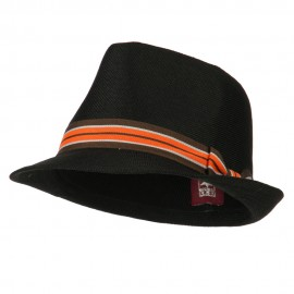 Youth Stripe Hat Band Fedora