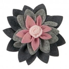 3 Layer Petal Large Flower Hair Pin and Clip