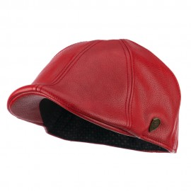 Pamoa Faux Leather Duckbill Ivy Hat