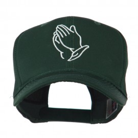 Praying Hands Embroidered Cap