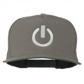 Power Icon Embroidered Snapback Cap