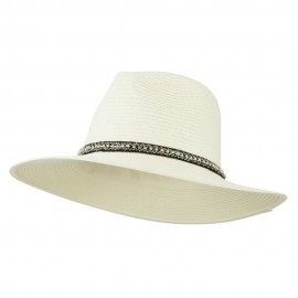 Jewel Band Panama Fedora