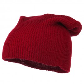 Plain Deep Shell Knit Beanie