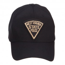 West Virginia State Police Patched Cap - Black