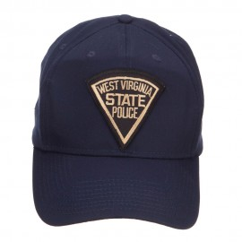 West Virginia State Police Patched Cap - Navy