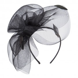 Women's Big Petal Feathers Fascinator