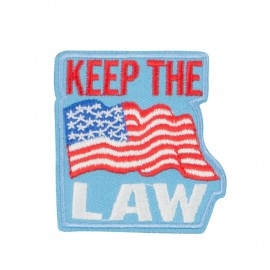 USA Keep the Law Commitment Patches