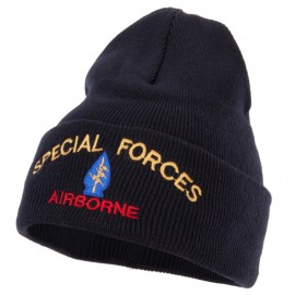 Airborne Special Force Embroidered Long Beanie