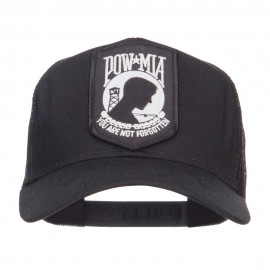 Pow Mia Military Patch Mesh Cap