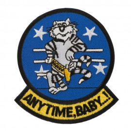 Assorted Navy Logo Patches - F-14 Anytime
