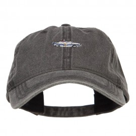 Mini Police Car Embroidered Washed Cap