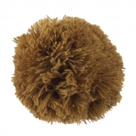 Pom Pom Yarn Alligator Clip - Brown