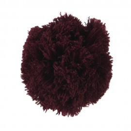 Pom Pom Yarn Alligator Clip - Wine